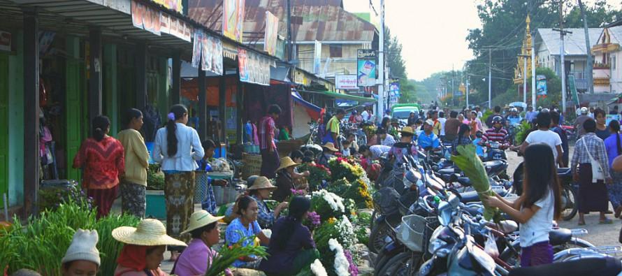 황금의 땅 미얀마를 향한 세계인의 눈 집중